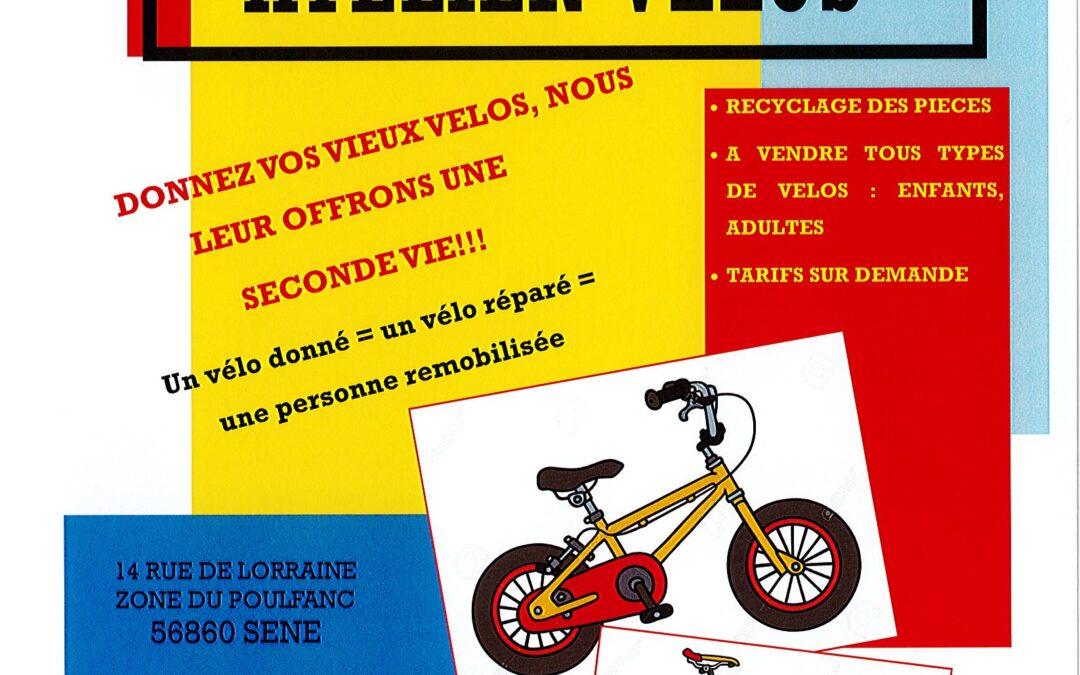 Atelier Vélos à SÉNÉ