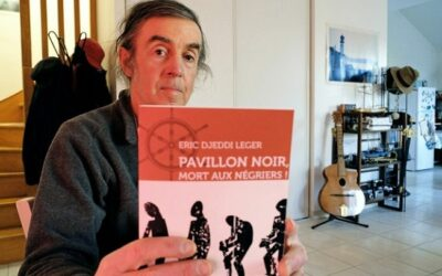 Éric DJEDDI-LEGER sort son premier roman