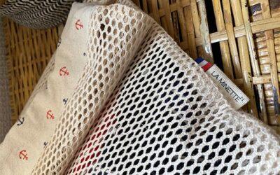 L'ESAT Saint-Georges confectionne des filets de lavage et pochettes imperméables